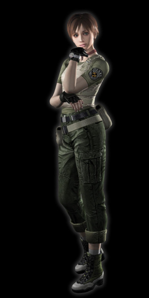 Rebecca Chambers: Not As Hot As Jill Valentine.