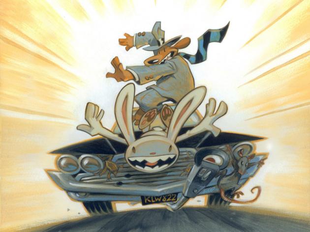 Sam & Max Surfing Onto Wii