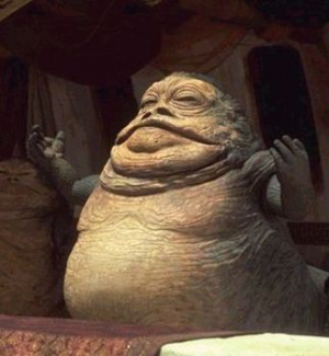 Jabba the Hutt Sued Nintendo Because Wii Fit Told Him He Was Obese