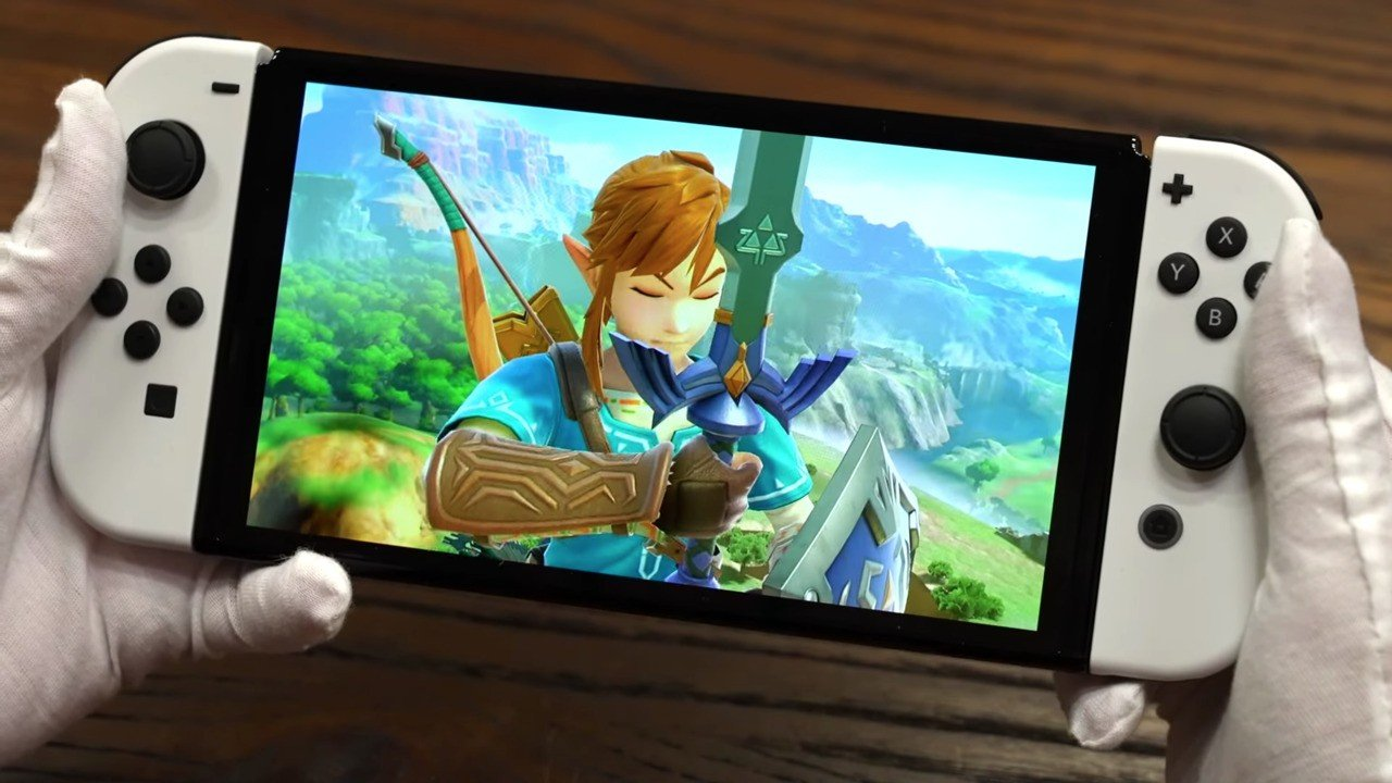 The World's First Nintendo Switch OLED Model Unboxing Video Is Here - Nintendo Life