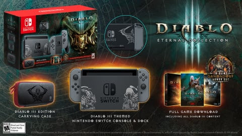 Diablo III Nintendo Switch Bundle Is A GameStop Exclusive