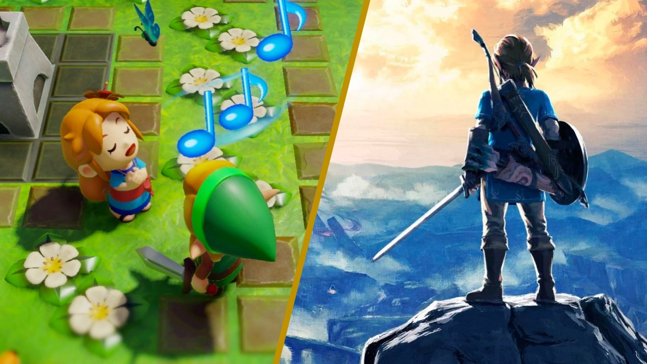 Nintendo Wants To Know Whether You Prefer 2D Or 3D Zelda Games