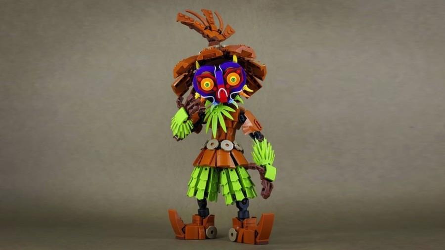 LEGO Zelda Skull Kid