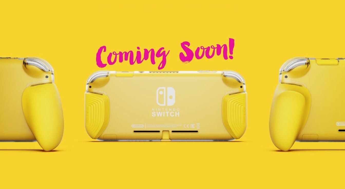 Hand Cramps Won't Be A Problem With This New Switch Lite Grip Case