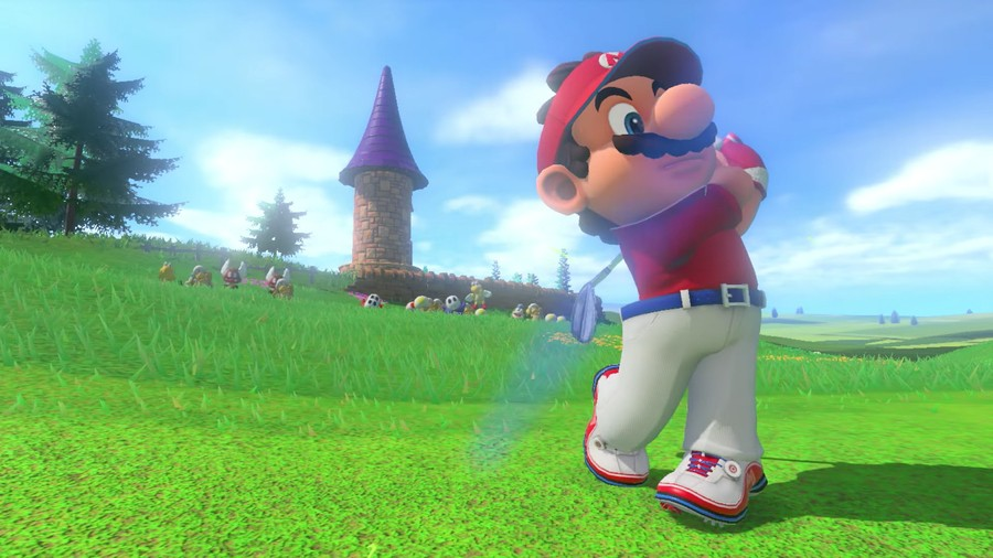 Mario Golf Japanese Number One