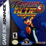 Mega Man Battle Network 3 Blue & White (GBA)