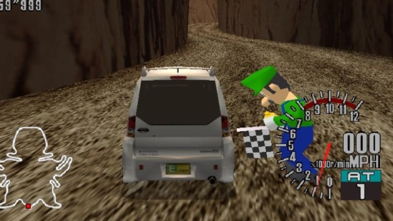 Random: Luigi Has Been Found Inside The Dreamcast Prototype Of Sega GT