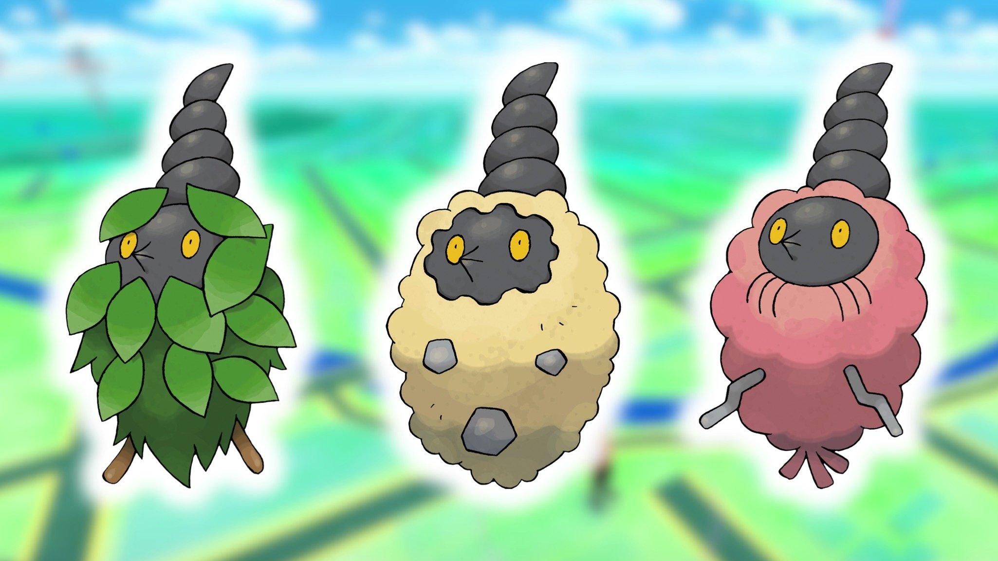 Burmy In Pokémon GO - Where To Find Plant, Sandy And Trash Cloaks