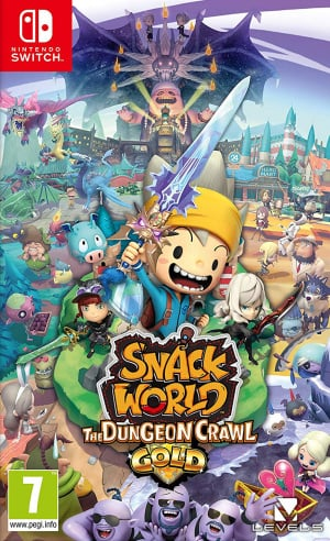 Resultado de imagem para SNACK WORLD: THE DUNGEON CRAWL — GOLD