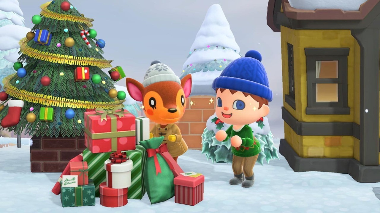 Christmas Toy Items Have Appeared In Animal Crossing: New Horizons For A Limited Time - Nintendo Life