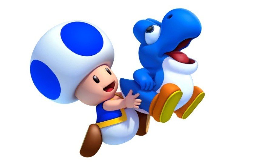 Nintendo Spreads The Message About Blue Toad's Return To New Super Mario Bros. U Deluxe