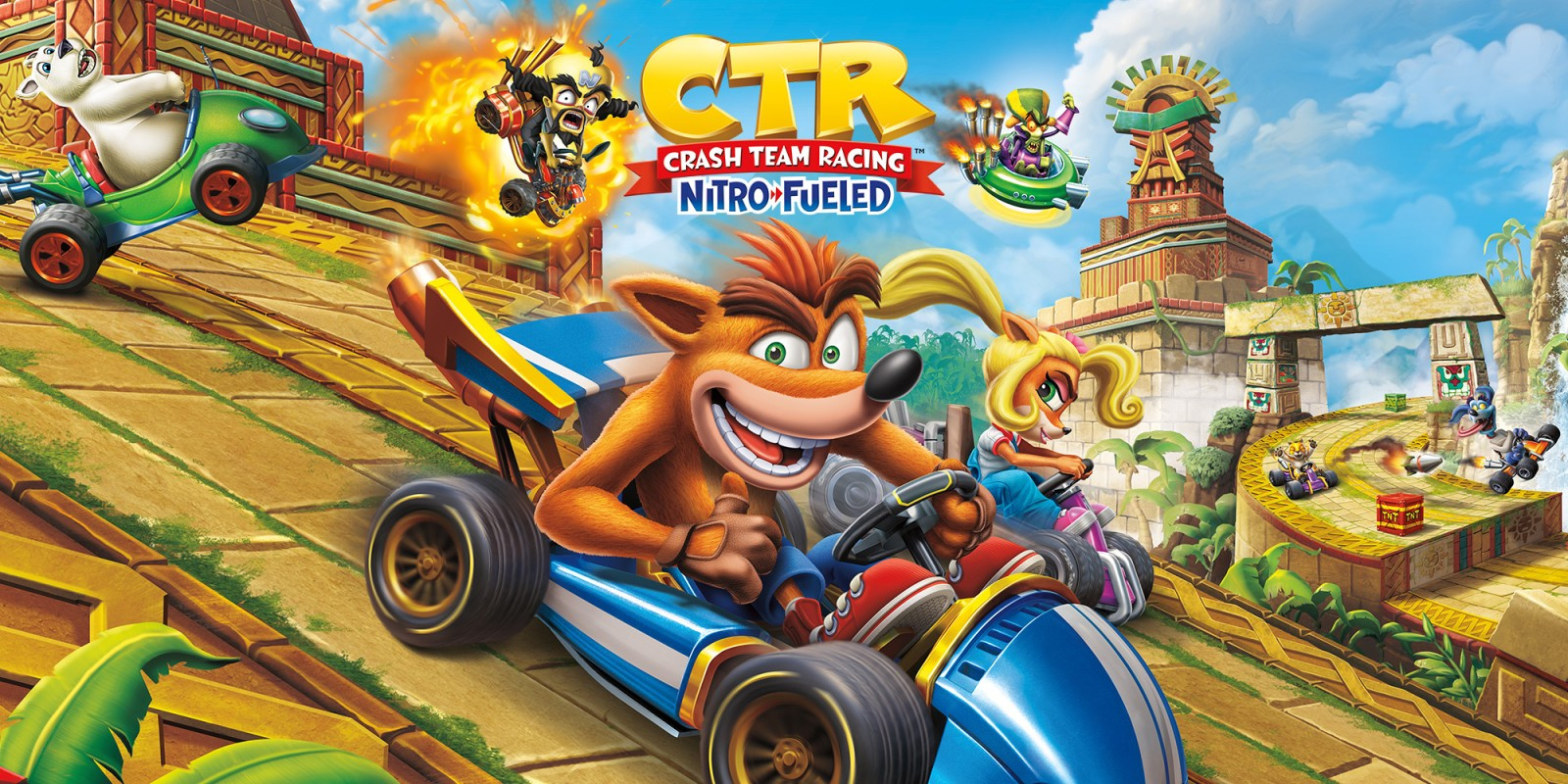 UK Charts: Crash Team Racing Takes The Chequered Flag Once More
