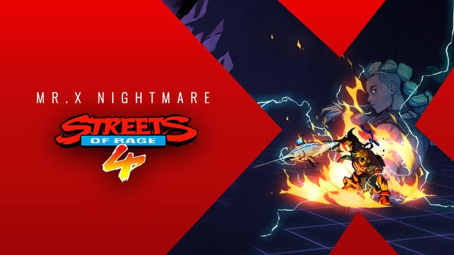 Streets Of Rage 4 Mr. X Nightmare DLC