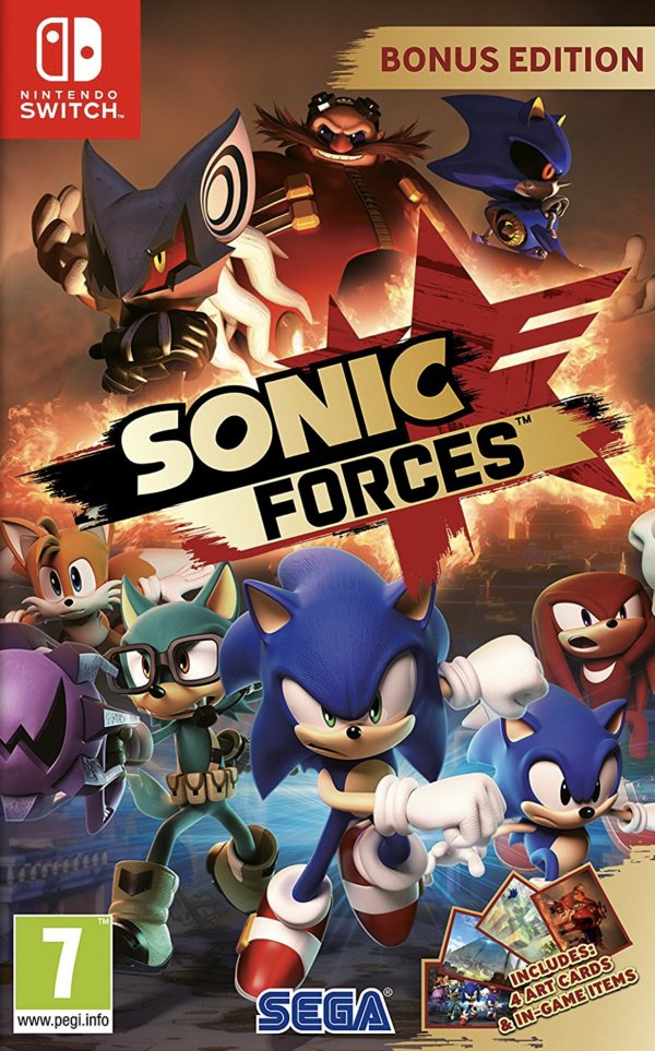 Sonic Forces Review Switch Nintendo Life