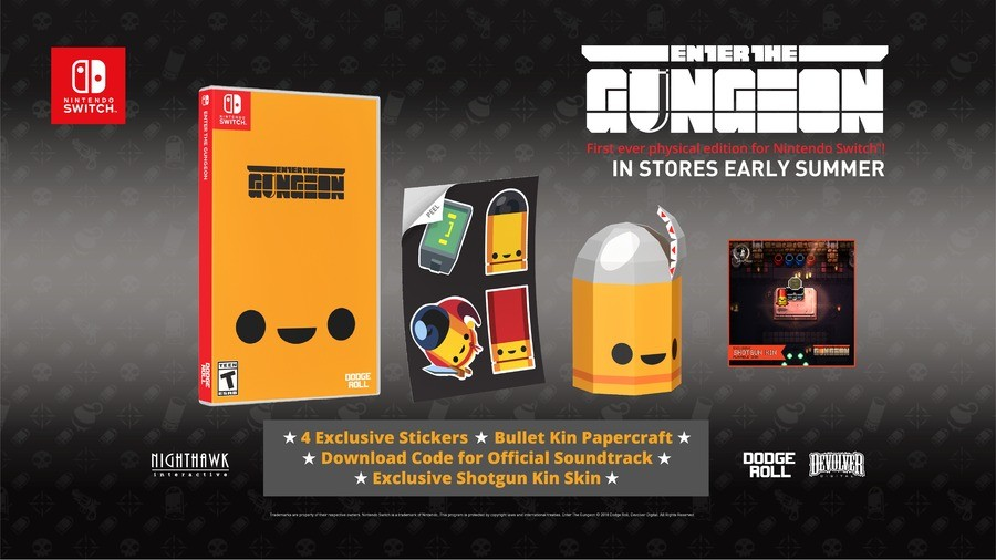 Enter The Gungeon Box Art