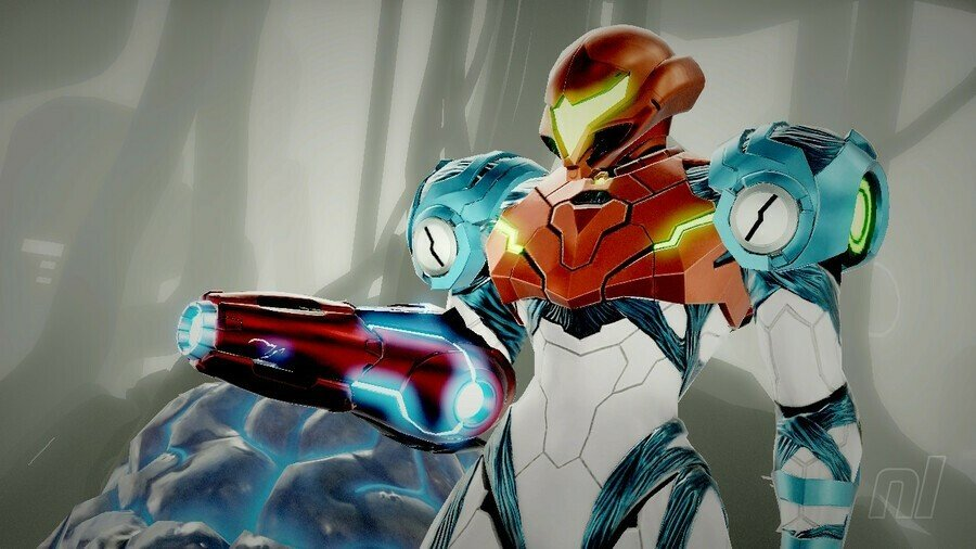 Metroid Dread Charge Beam