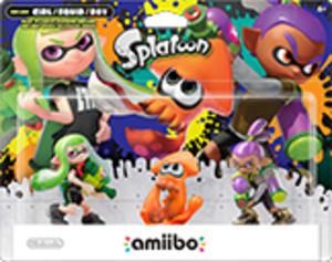 Inkling Squid amiibo Pack