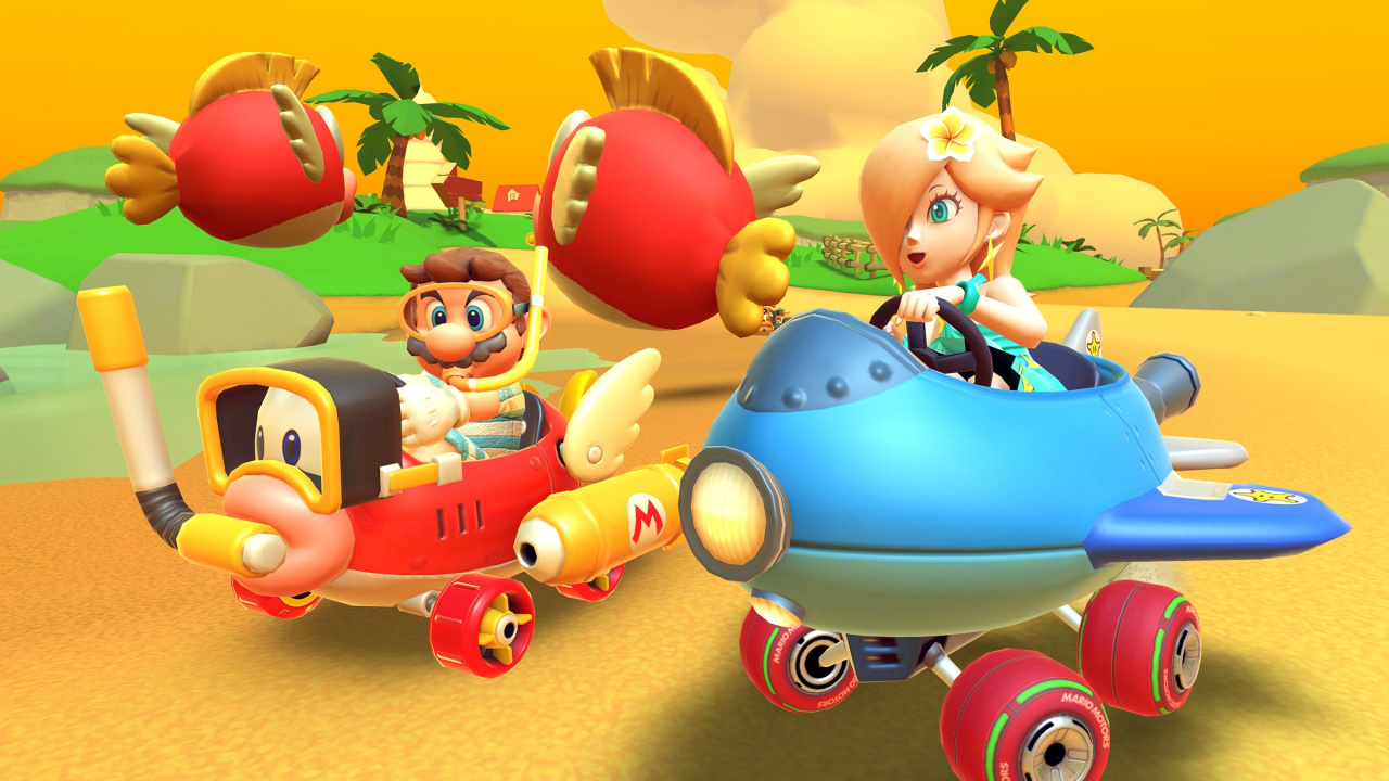 Nintendo Has Added Another GBA Course To Mario Kart Tour