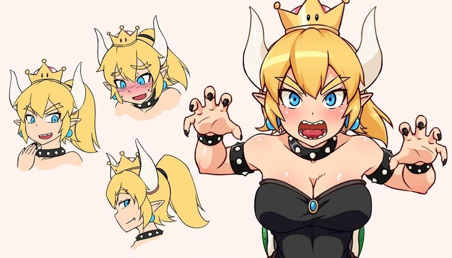 Bowsette Cropped