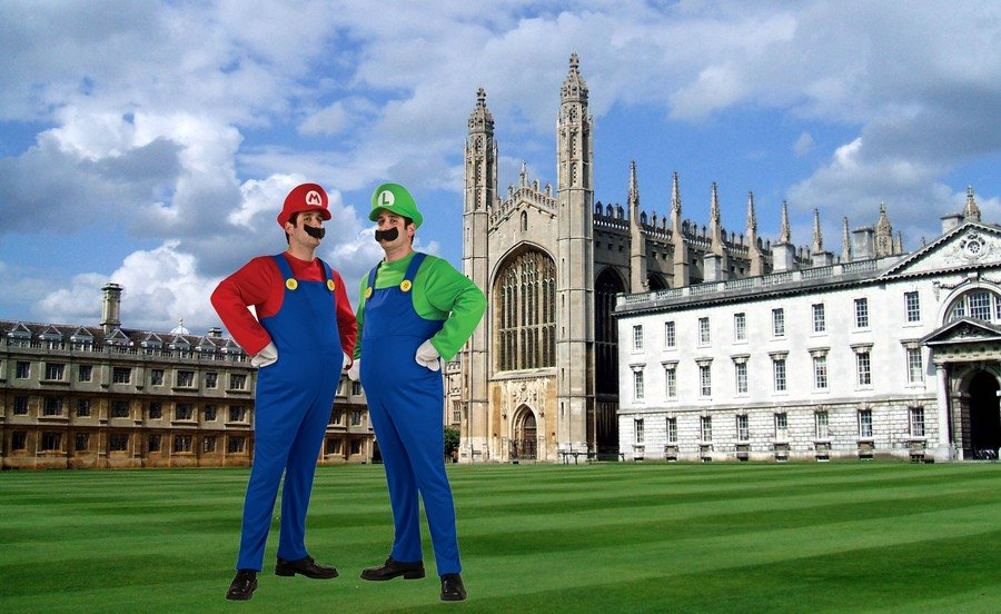 Mario Luigi Cambridge