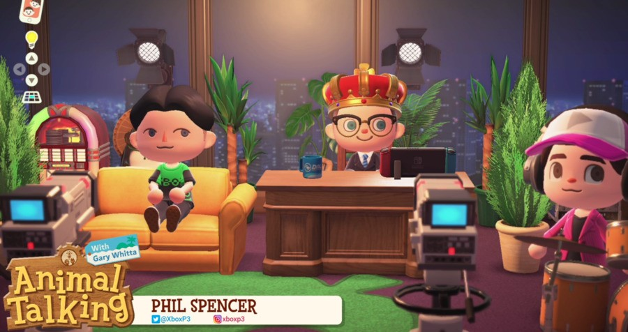 Animal Talking Phil Spencer