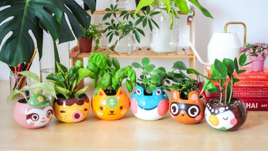 AC Planters by SailorHG and Alice Lee