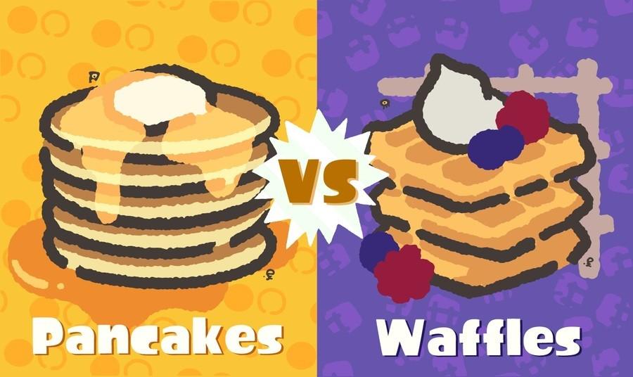 Pankcakes And Waffles 1