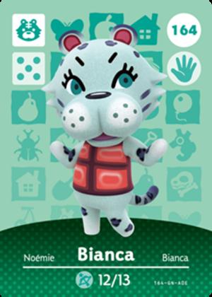 Bianca amiibo card