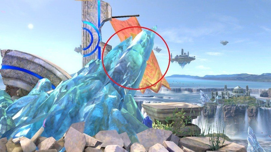 Ice-Frozen Rayman
