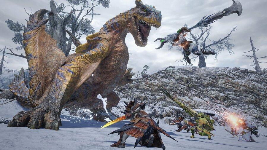 MHRise Multiplayer Tigrex 7
