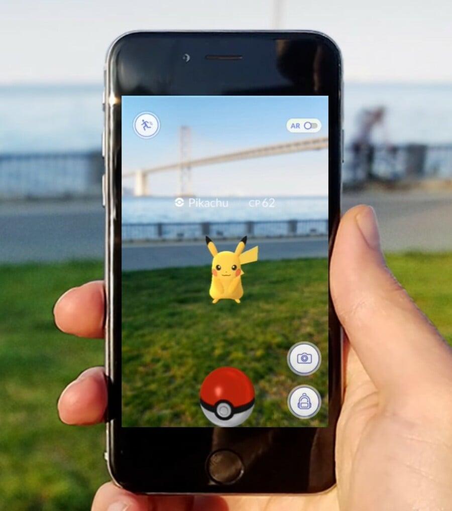 Pikachu Pokémon GO RSI