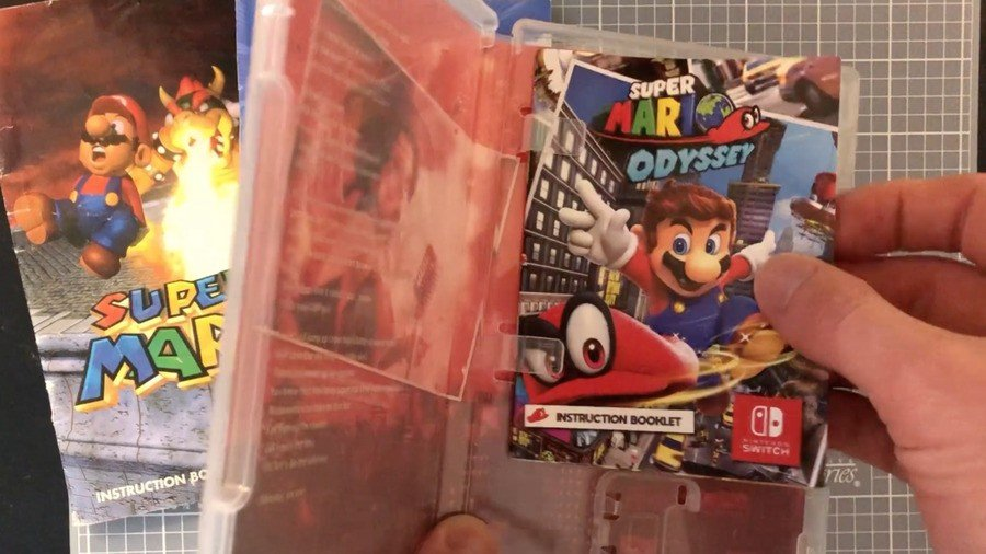 Switch Games Instruction Booklet