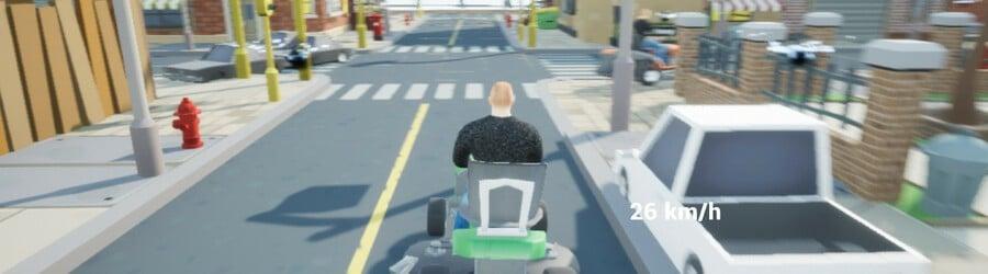 Lawnmower Game: Racing (Switch eShop)