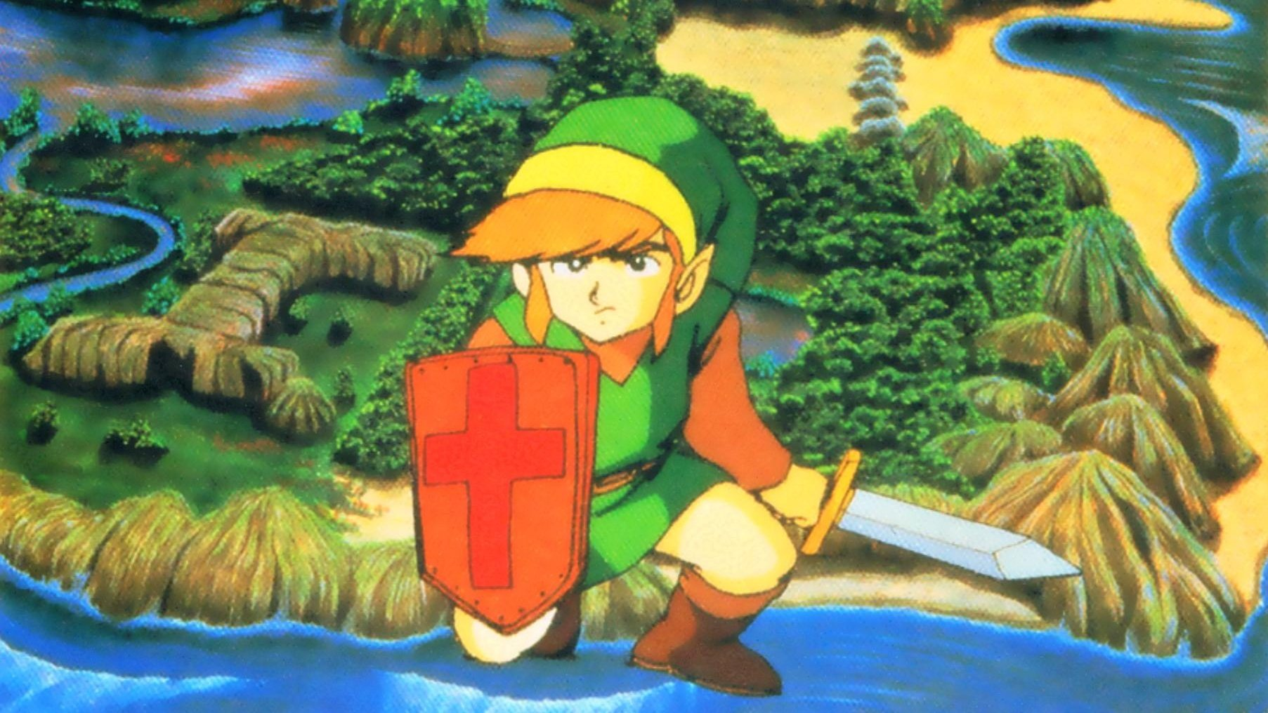 Nintendo gives Switch subscribers decked-out NES Zelda save file