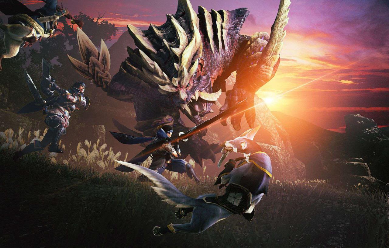 Japanese Charts: Monster Hunter Rise Stays Top In A Nintendo-Dominated Top Ten