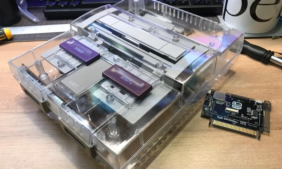 Transparent SNES Shell