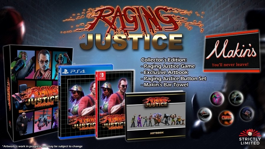 Strictly Limited Raging Justice