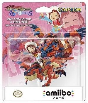 One-Eyed Rathalos & Rider Girl amiibo Pack