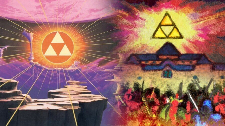 ALTTP and ALBW: The Sacred Triangle(s)
