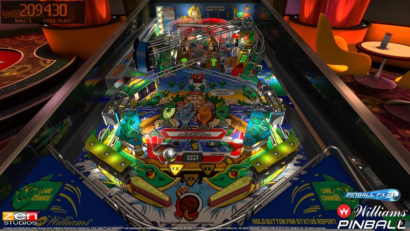 Zen Studios Acquires Bally And Williams Pinball Licence, Tables