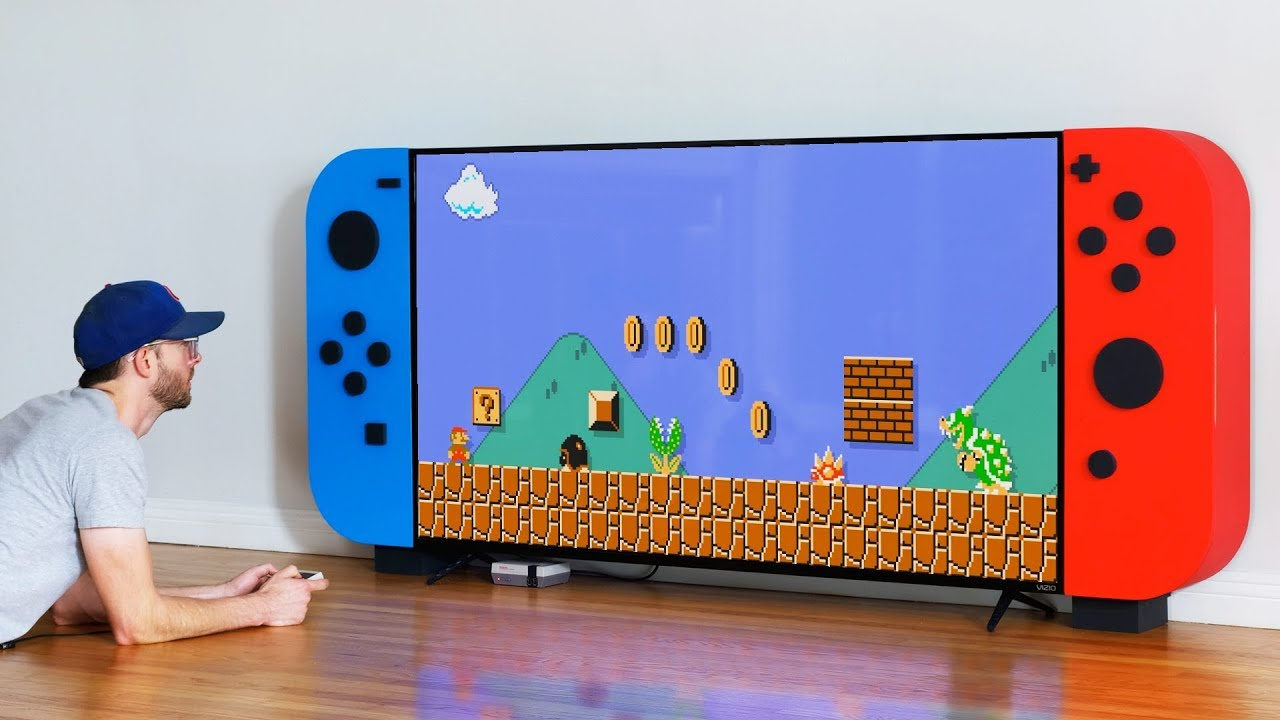 Homemade Nintendo Switch TV Displays Seem To Be All The Rage, And We're Not Complaining