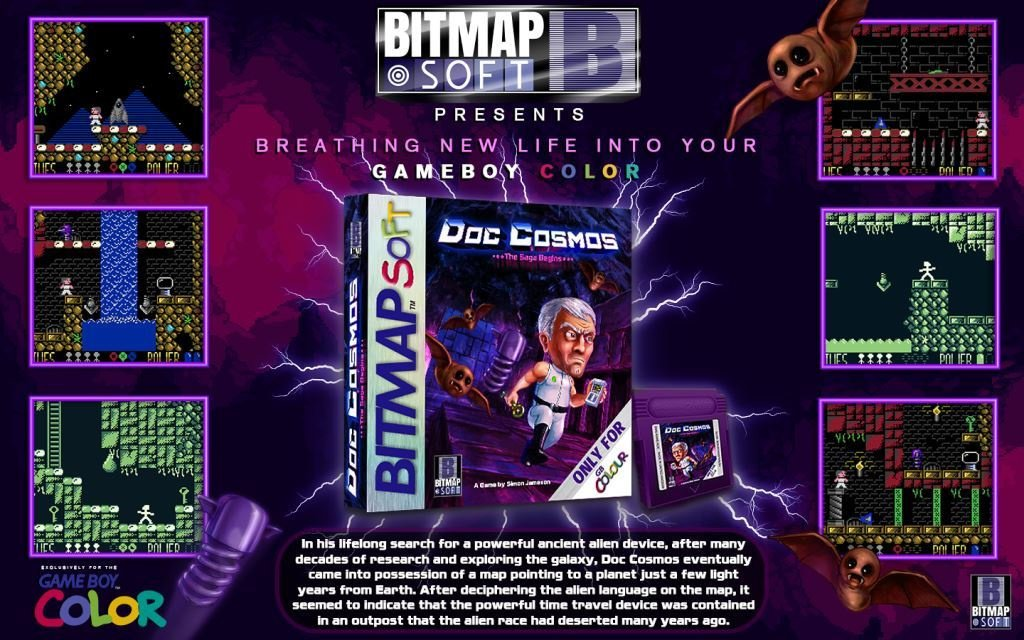 Doc Cosmos Is On The Way To Game Boy Color, In 2021