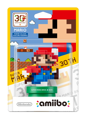 30th Anniversary Mario - Modern Color amiibo Pack