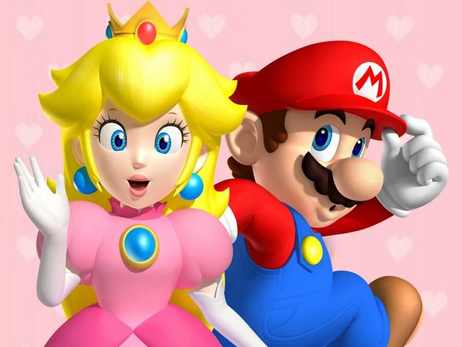 Sm3 Dl Peach X Mario by Gabymariofangirl D597 R9 X