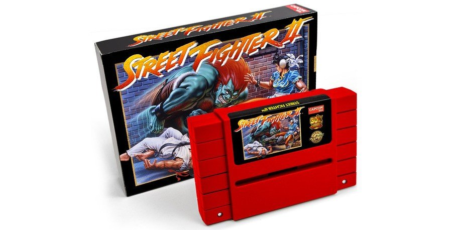 Street Fighter II Cart