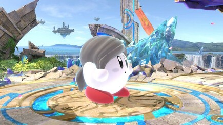 47. Wii Fit Trainer Kirby