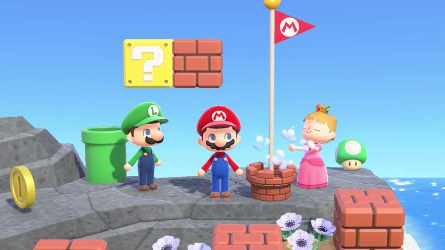 Mario x Animal Crossing: New Horizons