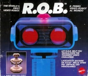 How can you possibly enjoy a game without R.O.B.?