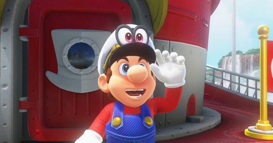 Shaved Mario