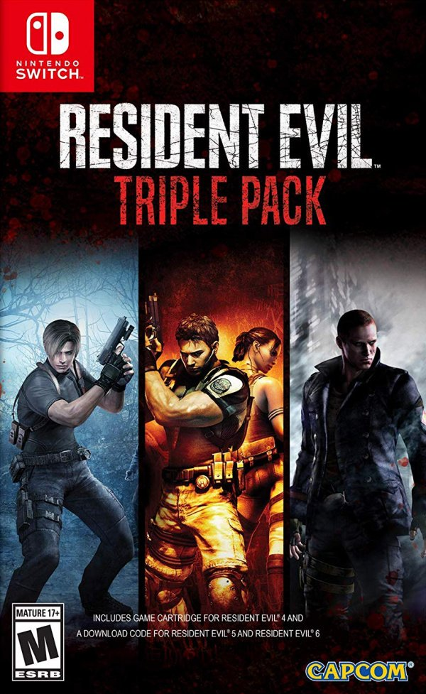 Resident Evil Triple Pack Review Switch Nintendo Life